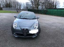 Alfa Romeo Mito, 2012 (12) Grey Hatchback, Manual Petrol, 49,600 miles