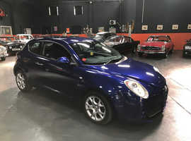 Alfa Romeo Mito, 2011 (61) Blue Hatchback, Manual Petrol, 67,140 miles