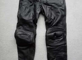 Hein gericke leather trousers