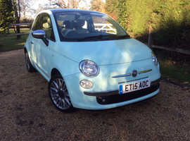 Fiat 500, 2015 (15) Smooth Mint Hatchback, Manual Petrol, 34,000 miles
