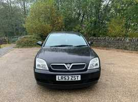 Vauxhall Vectra, 2003 (53), Manual Petrol, 115,000 miles
