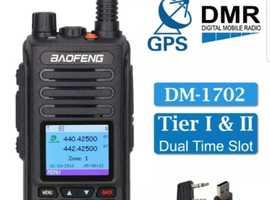 BAOFENG DM-1702 GPS DMR Digital radio