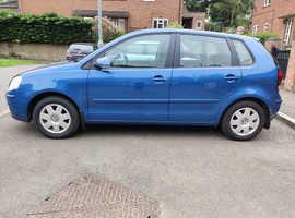 Volkswagen Polo, 2006 (06) Blue Hatchback, Manual Petrol, 109,041 miles