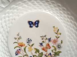 "Aynsley Cottage Garden 10"" fluted dish"
