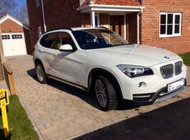 BMW X1, 2013 (63) White Estate, Manual Diesel, 59,000 miles