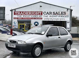 1998/S Ford Fiesta 1.3 Finesse finished in Moondust Silver Metallic. ONE OWNER FROM NEW!!! 49,697 miles