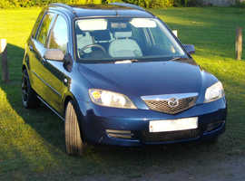 Mazda Mazda2, 2004 (54) Blue Hatchback, Manual Diesel, 121,000 miles