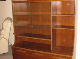 Display Cabinet with Storage Space