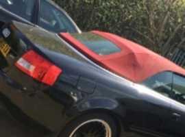 Audi Convertible, 2005 (05), Manual Petrol, 118,000 miles