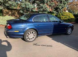 Jaguar S-TYPE V8 AUTO, 2000 (W) Blue Saloon, Automatic Petrol, 71,000 miles, low mileage