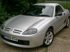 MG TF 1.6 WITH HARD TOP, 2005 One owner, 37,623 Genuine miles