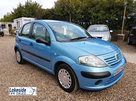 Citroen C3 Desire 1.4 Litre 5 Door Hatch, Service History, Long Mot With No Advisories, New Clutch.