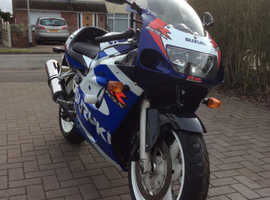 Collectable low mileage stunning GSXR600