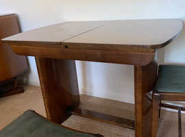 Beautility 1950's Dining Table & 4 Chairs
