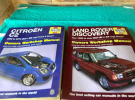 Manual for Citroen c2  2003/ 2010  and  land rover discovery 1998/2004.