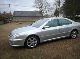 Peugeot 607, 2008 (58) Silver Saloon, Manual Diesel, 119,500 miles HDI Execitive