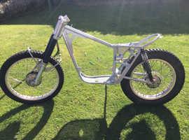 Bultaco Sherpa 250 rolling frame