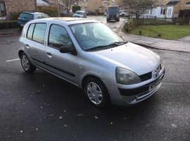 Renault Clio, 2005 (54) Silver Hatchback, Manual Diesel, 68,476 miles
