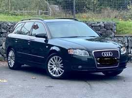 Audi A4, 2007 (07) Green Estate, Cvt Diesel, 154,650 miles