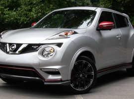 Nissan Juke, 2017 (66) Silver Hatchback, Manual Petrol, 33,900 miles