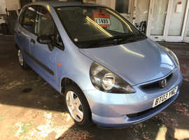 Honda Jazz, 2003 (03) Blue Hatchback, Manual Petrol, 44,694 miles