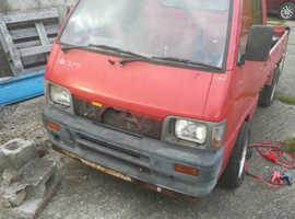 Daihatsu Hijet, drift pick up, zzr1100 motorbike engined project.