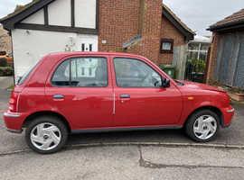 Nissan Micra, 2003 (03) Red Hatchback, Cvt Petrol, 31,491 miles