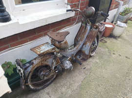 Bsa dandy scooter motorcycle spares repair