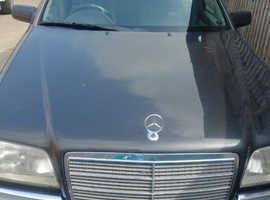 Mercedes C CLASS, 1995 (M) Black Saloon, Automatic Diesel, 217,403 miles