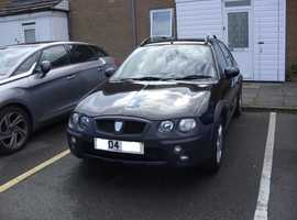 Rover Streetwise, 2004 (04) Black Hatchback, Manual Petrol, 81,400 miles