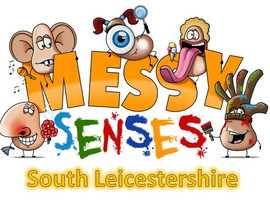 Messy Senses South Leicestershire- messy play sessions for 0-5 years