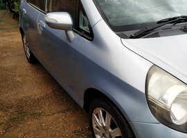 Honda Jazz, 2005 (05) Blue Hatchback, Manual Petrol, 150,298 miles