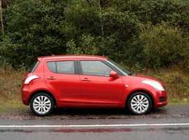 Suzuki Swift, 2011 (60) Orange Hatchback, Manual Petrol, 78,000 miles