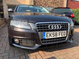 Audi A4 1.8 TFSI SE 4d, 2008 (58), Metallic Grey Saloon, Fully loaded. Manual.