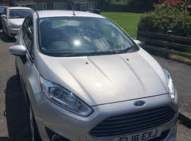 Ford Fiesta, 2016 (16) Silver Hatchback, Manual Petrol, 39,350 miles