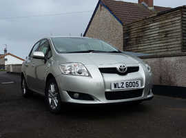Toyota Auris, 2008 (58) Silver Hatchback, Manual Petrol, MOT