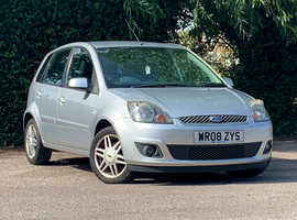 Ford Fiesta, 2008 (08) Silver Hatchback, Manual Petrol, 94,131 miles, Very nice car, NEW MOT