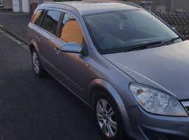 Vauxhall Astra, 2007 (07) Silver Estate, Manual Petrol, 120,600 miles