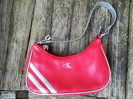 Ladies C.K Red Clutch Bag
