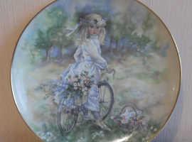 Christine Haworth Leonardo collection Bicycle ride plate