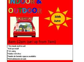 Stockton Heath Primary School car boot sale