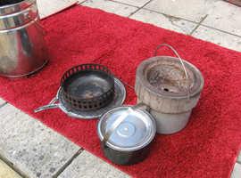 barbecue field kitchen / smoker