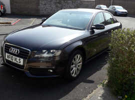 Audi A4, 2010 (10) Grey Saloon, Manual Diesel, 56,730 miles