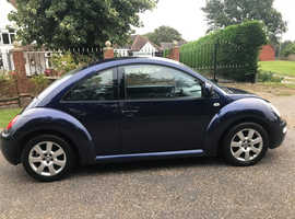 VW BEETLE 2.0 GOOD CAR WITH MOT & SERVICE HISTORY ALLOY WHEELS WITH ALMOST NEW TYRES
