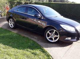Vauxhall Insignia, 2013 (63) Black Hatchback, Manual Diesel, 115,000 miles