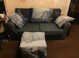 Sofa, pouffe and chair for free