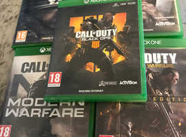 5 call of duty games Xbox one