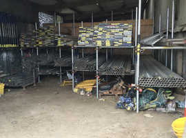 Used scaffolding tube/boards and fittings