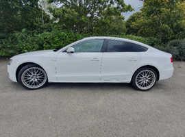 Audi A5, 2011 (11) white hatchback, Manual Petrol, 66,500 miles