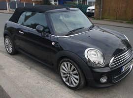 Mini MINI, 2011 (11) Black Convertible, Manual Diesel, 101,119 miles